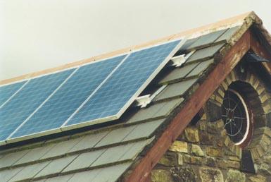 Solar Panels generate electricity